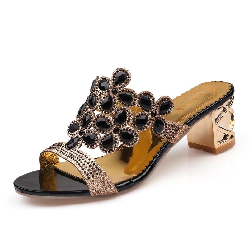 new 2017 fashion women big rhinestone cut outs high heel party sandals - free shipping! New Fashion Women Big Rhinestone Cut Outs High Heel Party Sandals – Free Shipping! HTB1ILanRVXXXXXkXVXXq6xXFXXXp