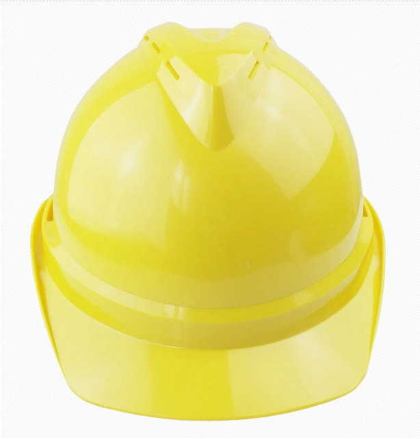High strength ABS anti-smash V shape Hard Hat construction industrial safety helmet work protective breathable hard caps