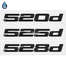 цены 520d 525d 528d Rear Boot Trunk Lid Letters Badge Emblem Logo For BMW 5 Series F10 F11 F07 E12 E28 E34 E39 E60 E61 Car Styling