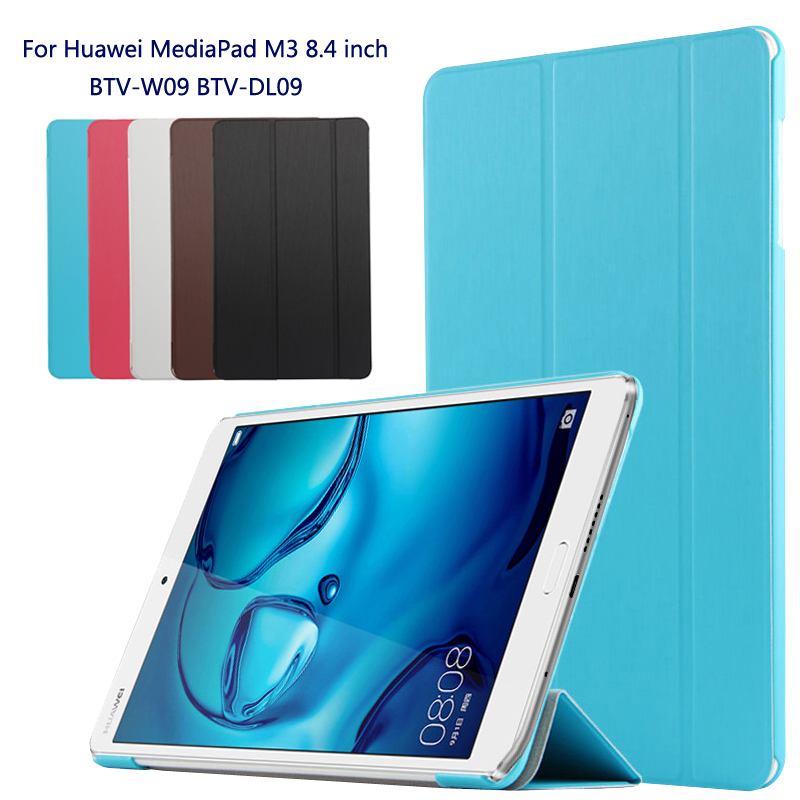 Fashion original case ultra thin cover case For Huawei MediaPad M3 BTV-W09 BTV-DL09 8.4 inch tablet pc + Film + Stylus mediapad m3 lite 8 0 skin ultra slim cartoon stand pu leather case cover for huawei mediapad m3 lite 8 0 cpn w09 cpn al00 8
