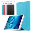 Fashion original case ultra thin cover case For Huawei MediaPad M3 BTV-W09 BTV-DL09 8.4 inch tablet pc + Film + Stylus