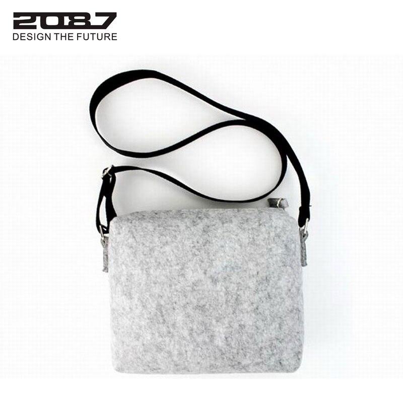bolsa crossbody verde mulheres homensageiro Bag Main Material : Eco-friendly Felt