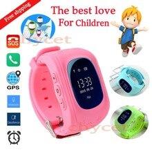 Q50 smart watch kinder kid safe gps tracker uhr armbanduhr gsm sos anti-verlorene smartwatch für kind kinder anti verloren monitor