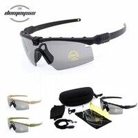 7701d200e8 Tactical Polarized Glasses Military Goggles Bullet Proof Army Sunglasses  With 3 Lens Men Shooting Eyewear Motorcycle. Gafas militares polarizadas  tácticas ...