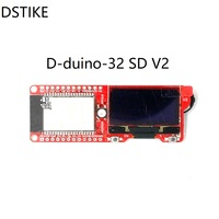 DSTIKE WiFi Packet Monitor V3 Preflashed D Duino 32 SD ESP32 Wrover OLED WiFi BLE IOT