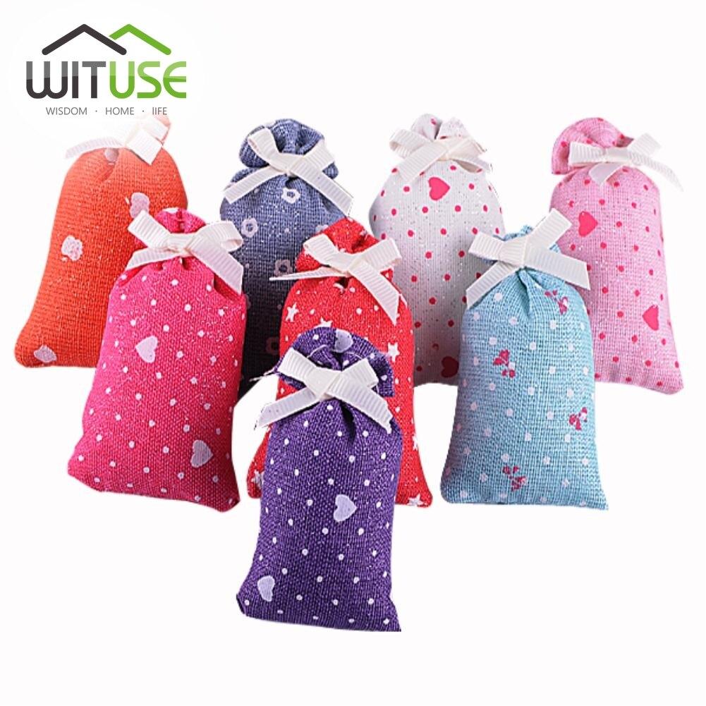 WITUSE New Natural Incense Cotton Sachet Bag Air Freshener Car Flavor Aromatize Wardrobe Jasmine Room Basket