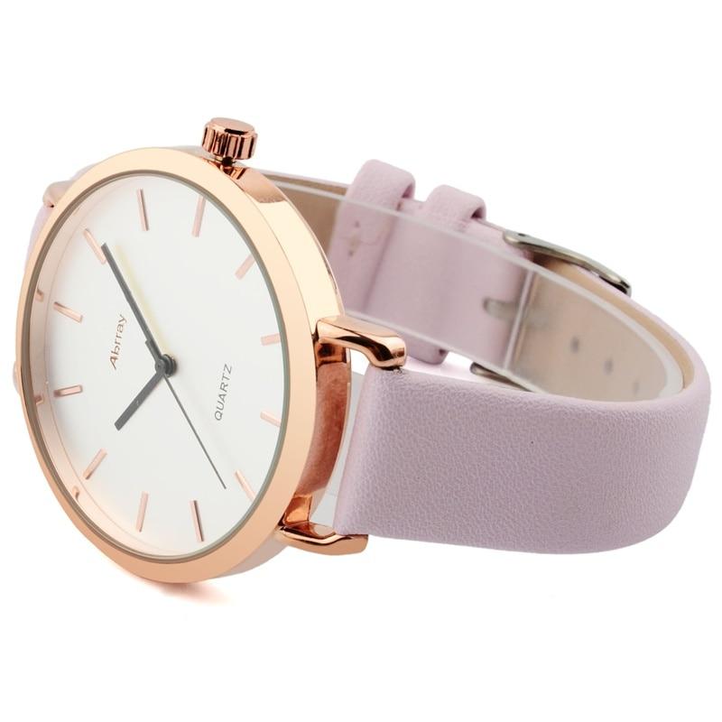 Abrray Fashion Dameshorloge Luxe Merk Lederen Band Horloge - Dameshorloges - Foto 6