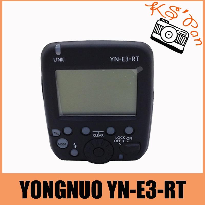 YongNuo Speedlite Wireless Transmitter YN-E3-RT for Canon Camera AS ST-E3-RT yongnuo yn e3 rt 2 4g 16 ch wireless speedlite transmitter black 2 x aa
