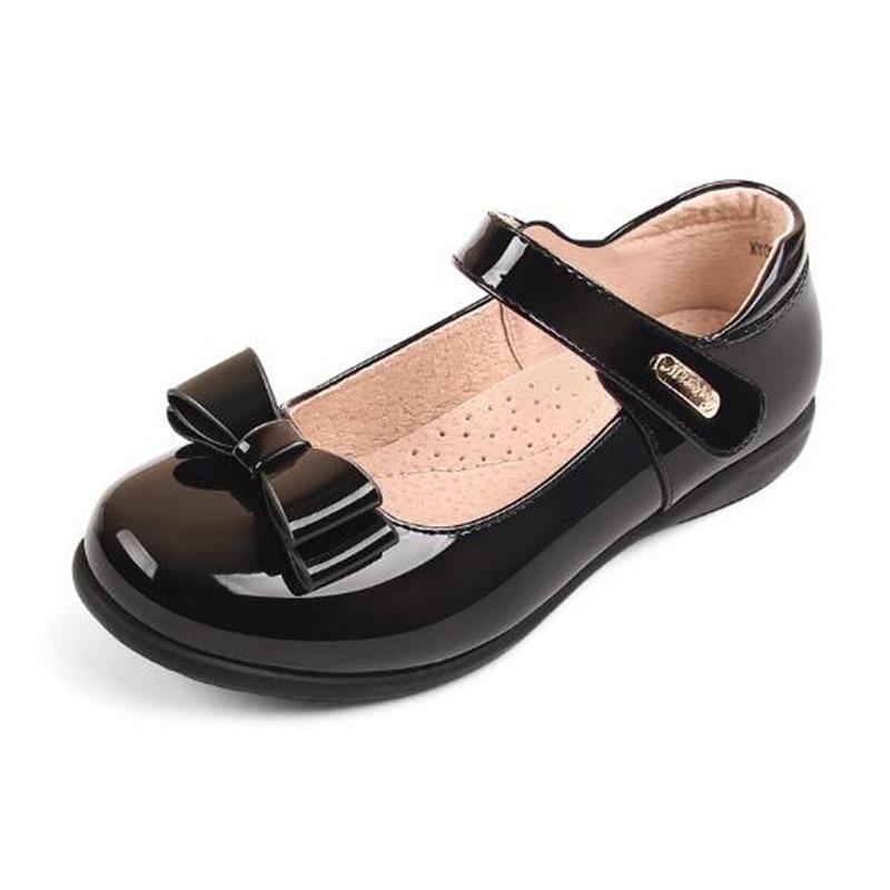 New Student School Shoes Dress Black