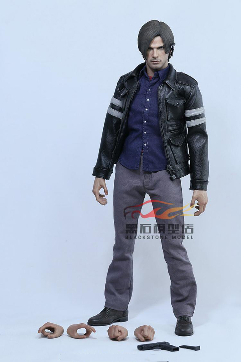1/6 Scale Resident Evil 6 Leon Scott Kennedy Full Set Action Figure for Collections collectible 1 6 jill valentine action figure resident evil model toys feamle full set figures in stock