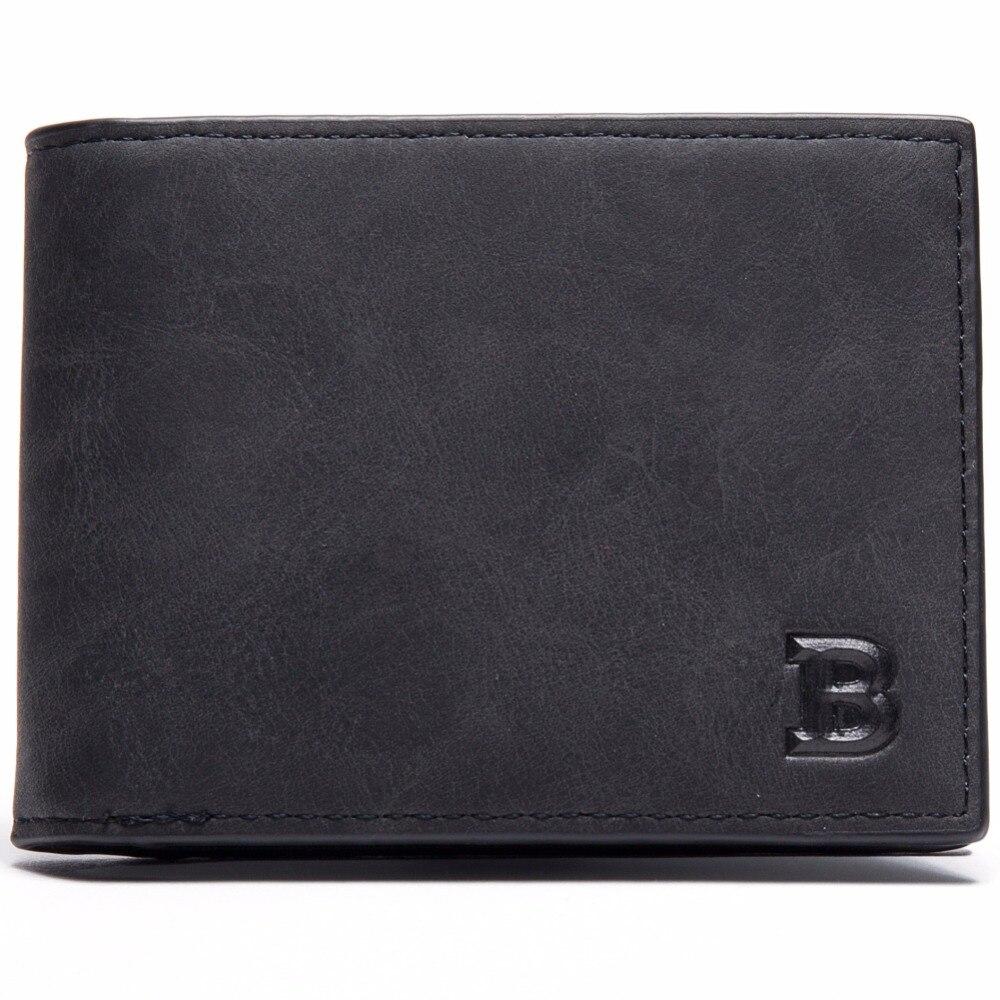 carteiras dos homens carteira pequeno Largura do Item : 8.5cm