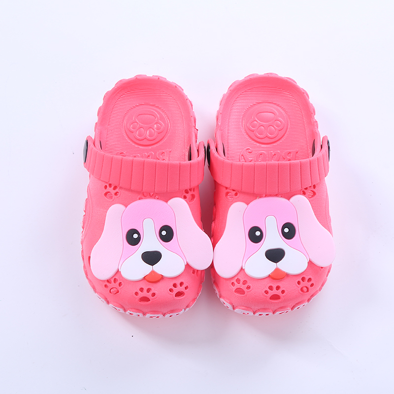 Lovely Puppy Children s Sandals Summer Toddler Boys and Girls Cartoon Non-slip  Slippers Soft Bottom Sandale Baby Indoor Shoes 869b8ed1c9b4