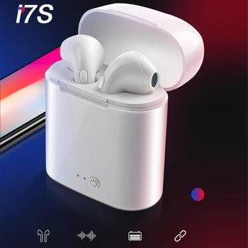 i7s TWS Bluetooth Wireless Earphone Mini Headset Stereo Earbud With Charging Box For iPhone Xiaomi Smart Phone TWS Earphone