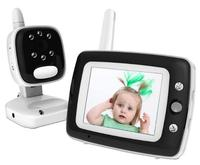 BQ35 3.5 inch color screen digital baby monitor night vision soothing lullaby two way audio temperature display 2.4GHz wireless