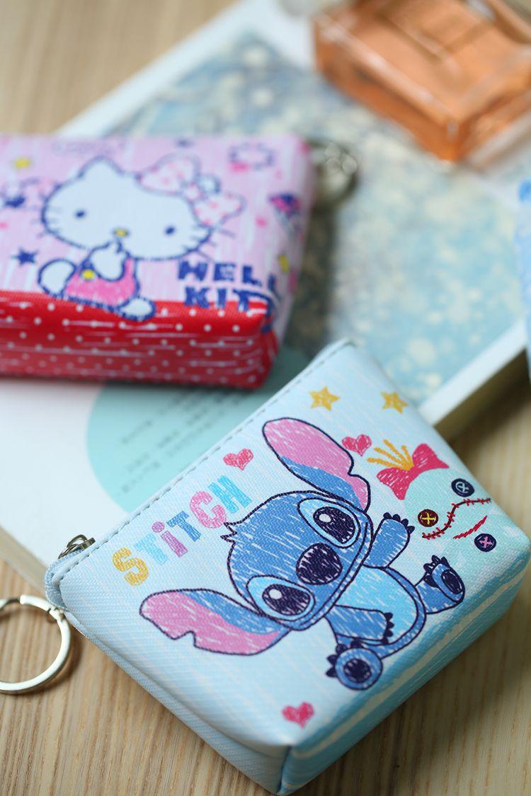 HTB1ILd4NXYqK1RjSZLeq6zXppXa9 Disney children cartoon purse Coin Mickey Mouse coin bag girl boy gift handbag storage key pendant bag kid packet wallet Frozen