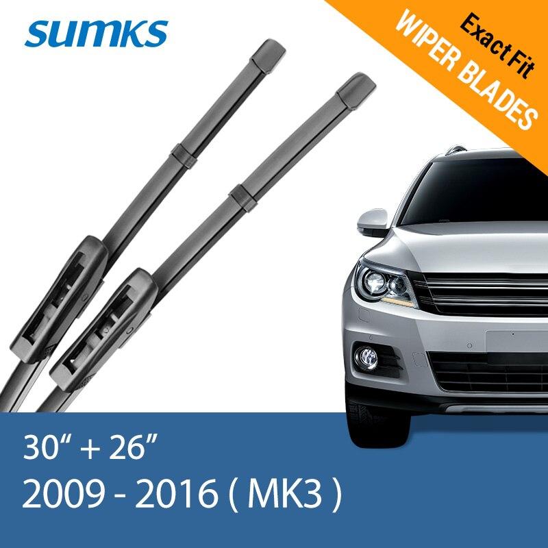 Sumks стеклоочистителей для Renault Scenic II III 2003 2004 2005 2006 2007 2008 2009 2010 2011 2012 2013 - Цвет: 2009 - 2016 ( III )