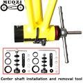 MUQZI велосипедный кронштейн для установки и удаления инструмента ось разборки для BB86/30/92/PF30 горный велосипед дорожный фиксированный механиз...