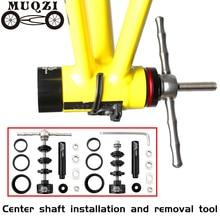 MUQZI – Support de pédalier de vélo, outil dassemblage et de démontage pour axes de cycles, pour VTT, BB86, 30, 92, PF30, accessoire de réparation