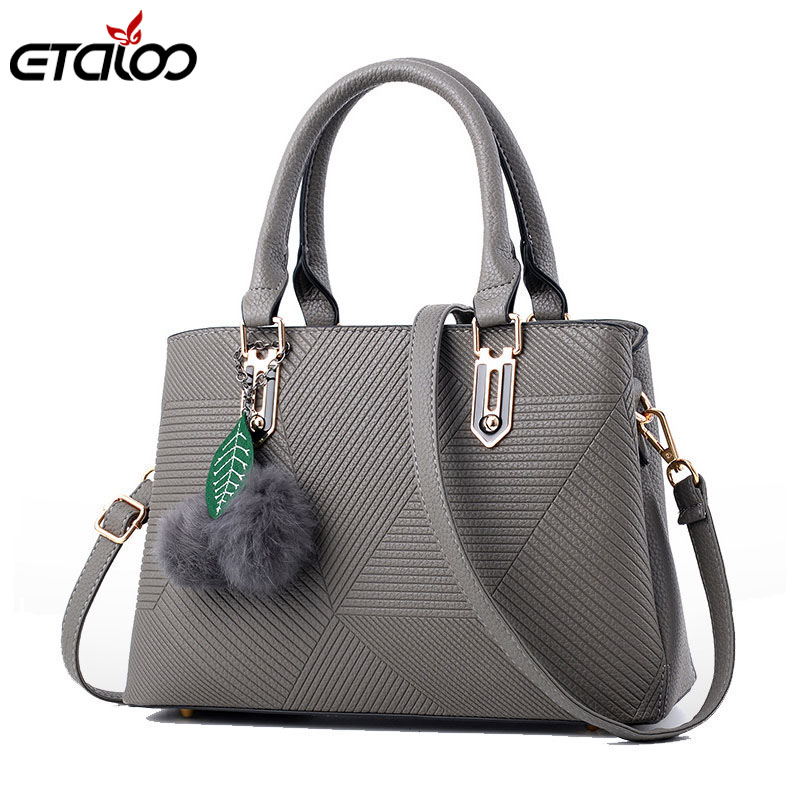 все цены на Women's bag leather handbag fashionable female bag Messenger bag 2018 new fashion good quality