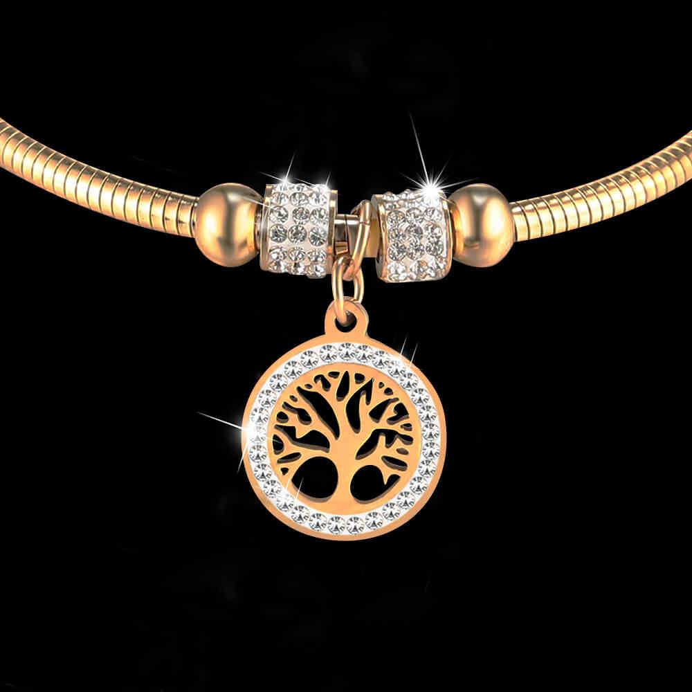 สร้อยข้อมือ moocare สร้อยข้อมือผู้หญิงกำไลข้อมือสร้อยข้อมือกำไลเงิน rose gold magnetic clasp งูหญิงนาฬิกาข้อมือเครื่องประดับสตรี