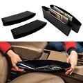 Organizador do Assento de carro Gap Filler Assento de Carro Organizador de Bolso Consola Lacuna Slit Side Pocket Armazenamento Luva Captura Car Gap Filler Assento de Carro
