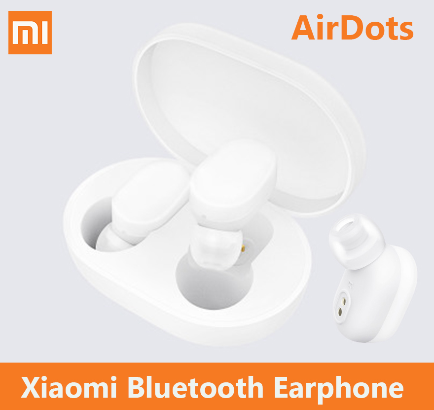 presales xiaomi AirDots bluetooth earphone TWS newest headset earbuds Handsfree smart AI Control mijia mi Headphones