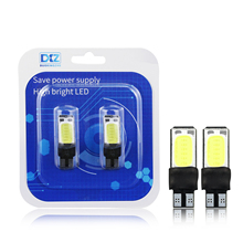 DXZ 2PCS Double sided T10 COB 6smd automobile LED Car Clearance lamp Reading Lights T10(W5W/194) License Plate 12V 3W