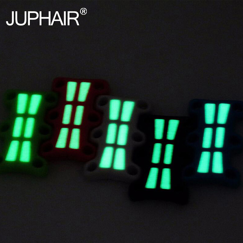 JUP 3 Pairs Magnetic Shoes Buckles Glowing Light Decorative Buckles Child Adult Closures No-tie Shoelaces Never Tie Laces Again