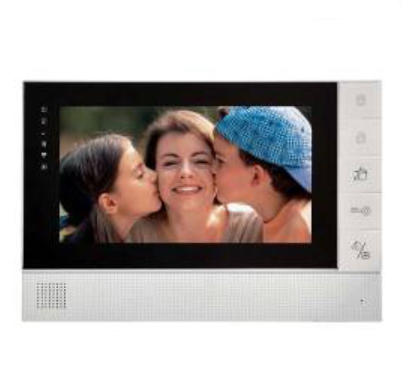 7 Inch  Color LCD Monitor For Wired Video Door Phone Visible Doorbell Intercom System aputure digital 7inch lcd field video monitor v screen vs 1 finehd field monitor accepts hdmi av for dslr