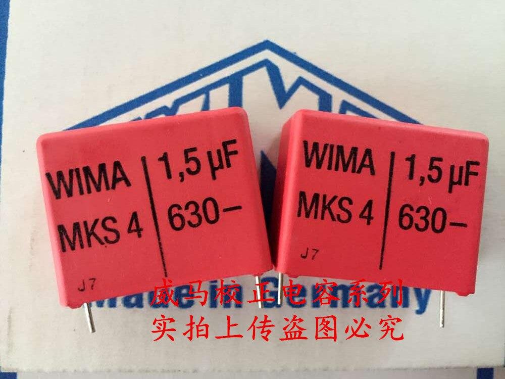 Capacitor de Áudio Venda Quente Pces – 20 Alemanha Wima Mks4 630v 1.5uf 155 1u5 p: 27.5mm Frete Grátis 2020 10