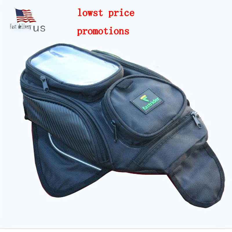 Fast delivery 2017Motorcycle bag big screen phone bag outdoor warterproof motorcycle tank bags top quality Magnetic fuel package