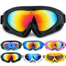 brand ski goggles single layer anti-fog windproof mask glasses skiing men women snow snowboard outdoor sport