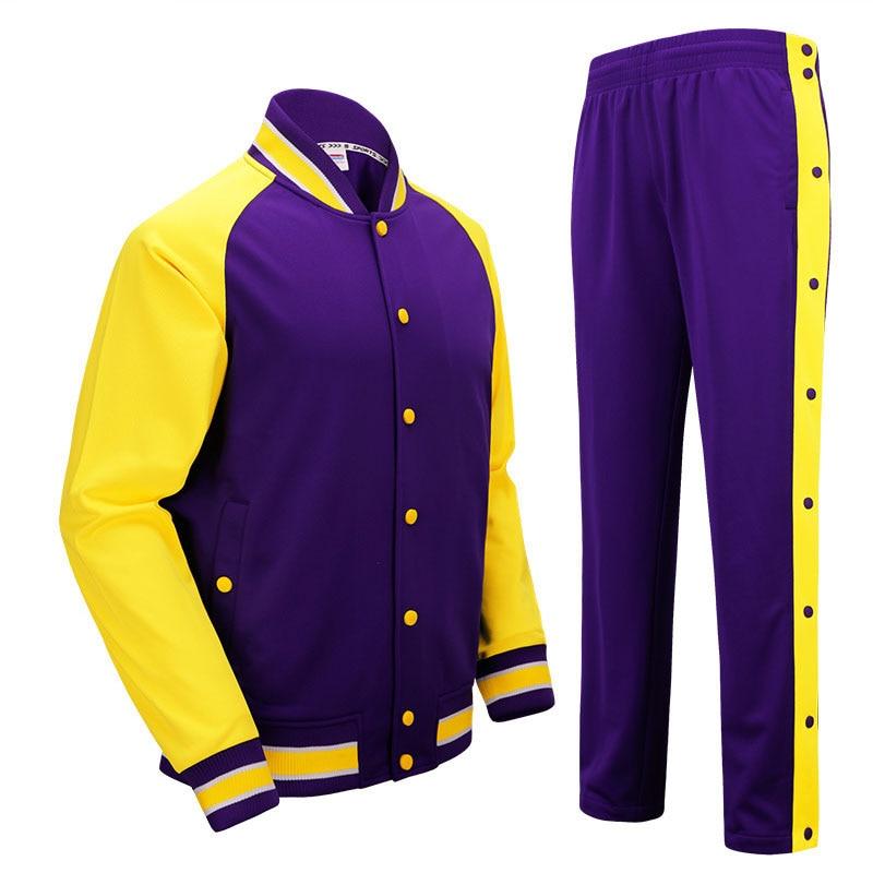 SANHENG Basketball pour hommes Maillot Concurrence Uniformes Costumes Bouton Complet Pantalons Ensembles De Vêtements De Sport Maillots de Basket-Ball Personnalisé 513AB