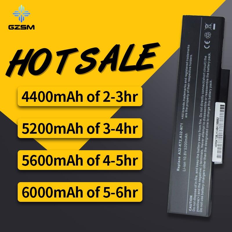 HSW laptop battery for Asus A32-K72 A32-N71 K72DR battery for laptop K72D K72F K72JR K73 K73SV batteies K73S K73E N73SV battery HSW laptop battery for Asus A32-K72 A32-N71 K72DR battery for laptop K72D K72F K72JR K73 K73SV batteies K73S K73E N73SV battery