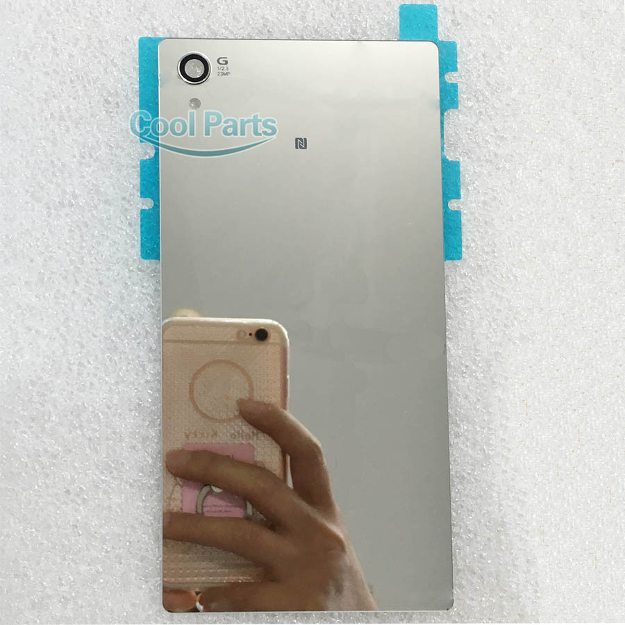 You Kit High Quality A Mirror Back Glass Rear Cover For Sony Xperia Z5 Premium 5