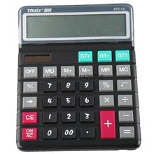 2017 Top Branded Truly 870-12 Large Size office calculator 12 Digits Large Screen Display