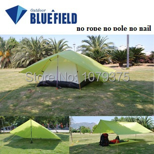 Free Shipping Simple Tent Ground Mattress Camping Outdoor Sun Shelter Shade Awing