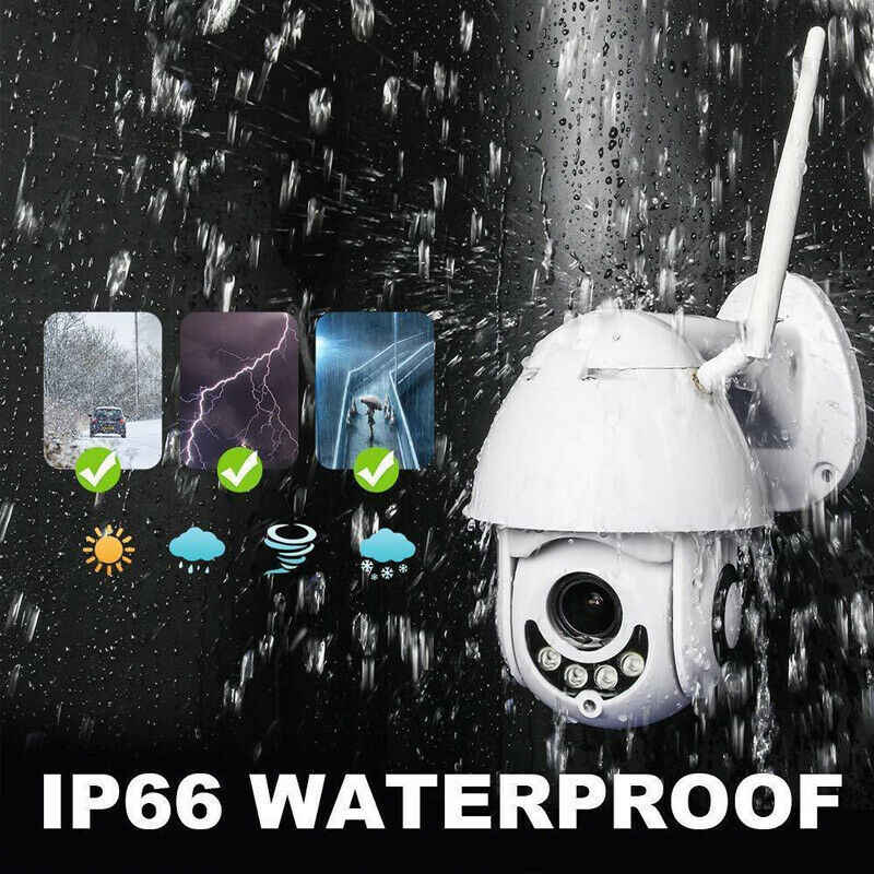 1080P Speed Dome Outdoor Wifi Wireless PTZ IP Security Camera 2MP Two Way Audio SD Card IR Vision Video Home dropship 2019