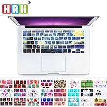 """HRH Звездная ночь от Ван Гога силиконовая клавиатура крышка клавиатуры кожи для MacBook Pro Air 1"""" 15"""" 1"""" Новые сенсорные наклейки на клавиатуру"""