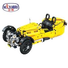 цена на Technic City Classical Tricycle Model Legoes Building Blocks Sets Bricks Kids Classic Toys For Children Car