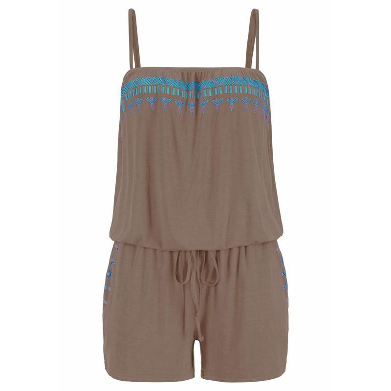 Plus Size Womens Loose Jumpsuit Summer Sleeveless Romper Shorts Pants Playsuit