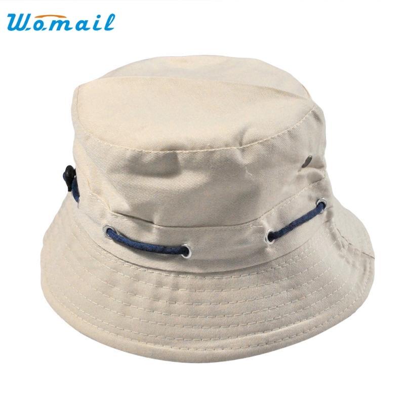 Unisex Cotton Bucket font b Hat b font Double Side Fishing Cap font b Hats b