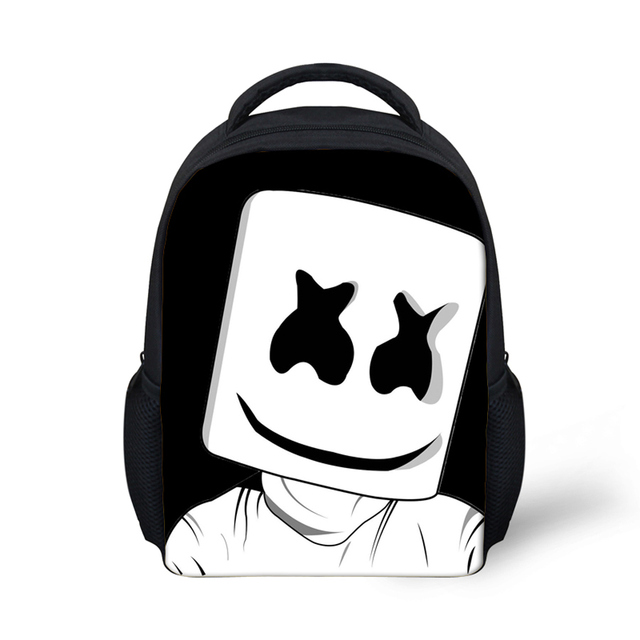 d42209822e9f Cool Children School Bags DJ Marshmello Print School Bag for Teenagers Boys  Girls Cool Kids Schoolbag