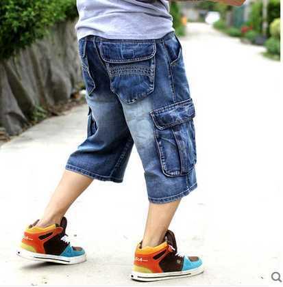 multi-pocket casual capris jeans hiphop street loose plus size skateboard large size big size men's clothing ,3XL,4XL,5XL,6XL, lole капри lsw1349 lively capris xs blue corn