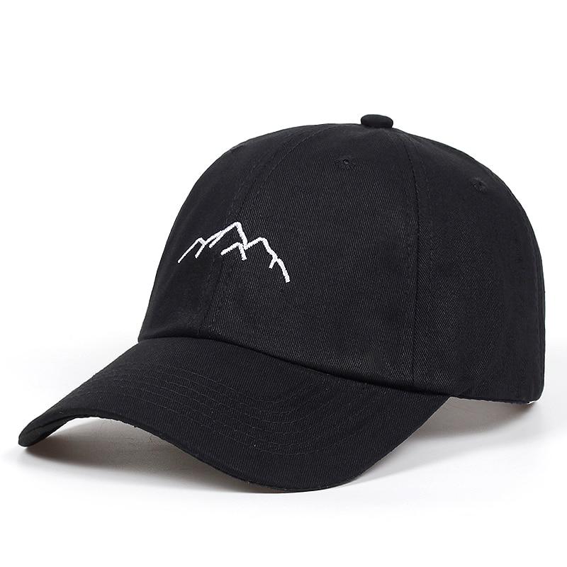 2018 new Mountain range embroidery Mens Womens Baseball Caps Adjustable Snapback Caps Fashion dad Hats Bone Garros 1