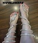 TINGHON women sandal...