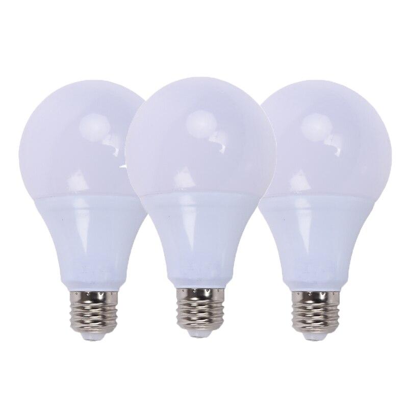 3 шт./лот оптовая продажа светодиодные лампы E27 3 Вт 5 Вт 7 Вт 9 Вт 12 Вт 15 Вт светодиодные лампы 110 В 220 В светодиодные лампы холодный теплый белый ...