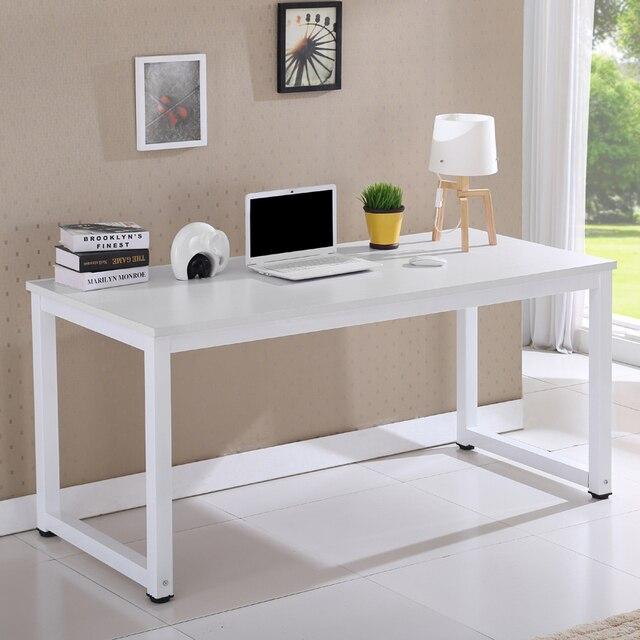 Table Cheap Simple Desktop Computer Desk Wood Furniture Minimalist New
