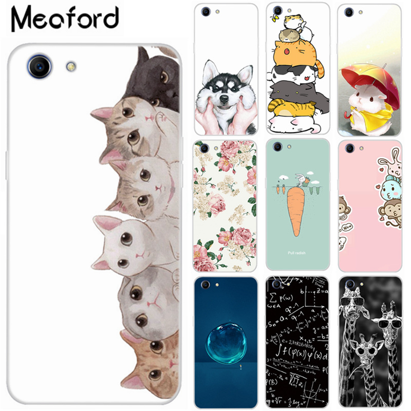 For <font><b>OPPO</b></font> <font><b>A83</b></font> <font><b>Case</b></font> Cute Cat Silicone Phone <font><b>Cover</b></font> For <font><b>Oppo</b></font> A39 <font><b>Cases</b></font> TPU Soft Coque Back For <font><b>OPPO</b></font> A37 <font><b>Case</b></font> A 83 CPH1729 Protective image