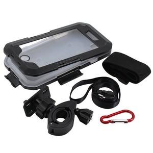 Image 4 - Wasserdicht Telefon Halter Für iPhone11 Pro Max X XR XS MAX 8 7Plus SE Motorrad Telefon Stehen Unterstützung Fahrrad GPS Rüstung Fall Moto